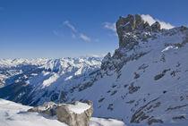 Winter in den Bergen von Johannes Netzer