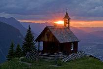 Sonnenaufgang in den Bergen by Johannes Netzer