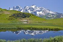 Bergsee im Montafon von Johannes Netzer