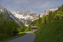 Traumstaße in dei Berge von Johannes Netzer