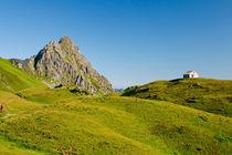 Haus in den Bergen von Johannes Netzer