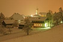 Schruns bei Nacht von Johannes Netzer