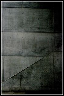 Concrete stairs by Harald Kraeuter