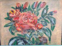 Stolze Rose von orina nissenbaum