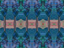 Blauer Tempel von Angela Parszyk