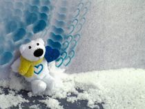 Teddybär von Angela Parszyk