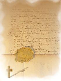 Siegelbrief von Angela Parszyk