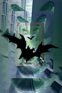 Fledermaus von Angela Parszyk
