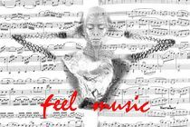 feel music  von Angela Parszyk