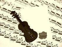 Geige von Angela Parszyk