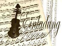 Einlagung - Geige by Angela Parszyk