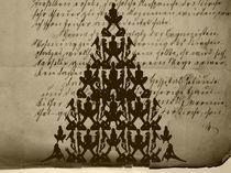 Erotischer Weihnachtsbaum von Angela Parszyk