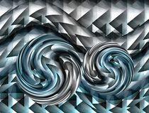 Blaue Lagune von Angela Parszyk