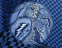 Blauer Planet von Angela Parszyk