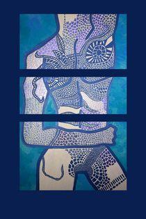 SELF-MADE blau von Angela Parszyk