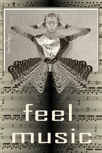 feel music  by Angela Parszyk