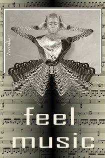 feel music  von Angela Parszyk