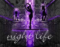 Night Life lila by Angela Parszyk