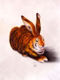Tigerhase frei nach AD by Christoph E. Hampel