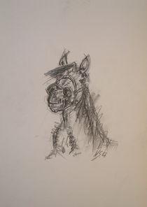 Skizze Pferd by Nils Schillgalies