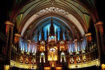 Basilica Notre-Dame (Montréal) von Juergen Weiss