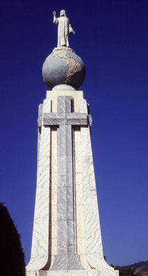 Monumento al Divino Salvador del Mundo von Juergen Weiss