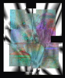 Farbe auf schwarz-weiss 4 von Heike Schenk Arena