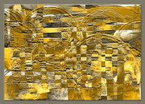 Abstraktes Mosaik von Heike Schenk Arena