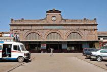Bahnhof in Bamako von Walter Vymyslicky