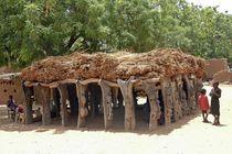 Palaverhütte im Dogonland von Walter Vymyslicky
