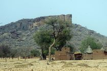 Sahelzone im Dogonland von Walter Vymyslicky