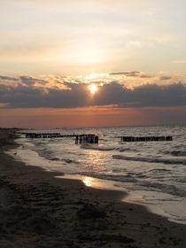 Sonnenaufgang an der Ostsee von Manuela Krause