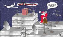 Weihnachtsmann by Ingrid Besenböck