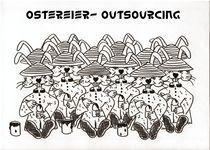 Ostereier Outsourcing von Ingrid Besenböck