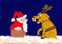 Weihnachtsmann in Not von Ingrid Besenböck