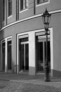 Dresden - k-eine Filmkulisse (sw) by Peter Zimolong