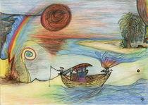 Wüstenschiff von Uschy Baumgarten