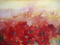 Mohnblumenfeld von farbart