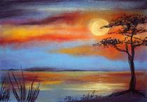 Sonnenuntergang am Meer von farbart
