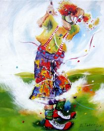 Golfclown 7 by Barbara Tolnay
