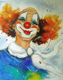 Clown Portrait 5 von Barbara Tolnay