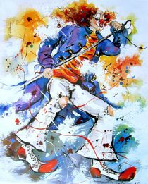 Musikclown by Barbara Tolnay
