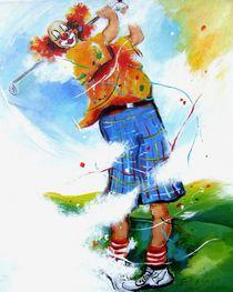 Golfclown 6 by Barbara Tolnay