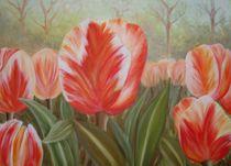 Tulpenfeld von Lyuba Woronina