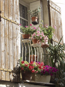 Balkon in der Provence by Christoph Hermann