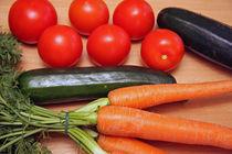 Gemüse von edler