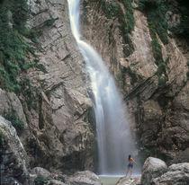 Wasserfall in Slowenien by peter lammerer