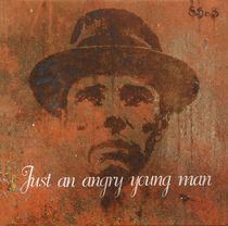 Just an angry young man - Portrait of Joseph Beuys by Smitty Brandner