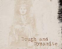 Dough and Dynamite - Portrait of Charly Chaplin von Smitty Brandner