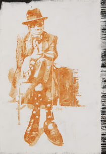 John Lee Hooker  by Smitty Brandner